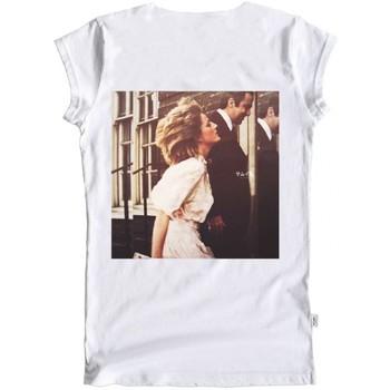 Vêtements Femme T-shirts manches courtes Ko Samui Tailors T-shirt blanc Princesse jai un reve  KSUTB 3 Blanc