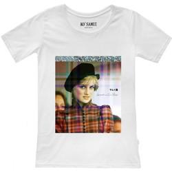 Vêtements Femme T-shirts manches courtes Ko Samui Tailors T-shirt Shine Spencer blanc  KSUTF C18 SPENCE Blanc