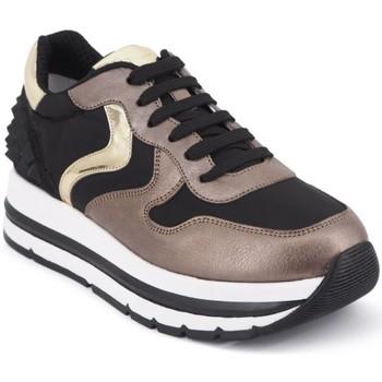 Chaussures Femme Baskets basses Voile Blanche Maran Studs Sneakers Gold  VLB201522901 Doré