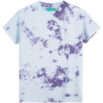 Vêtements Homme T-shirts manches courtes Backsideclub T-shirt Perception Violet  BSCTHTD 133 PE Violet