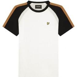 Vêtements Homme T-shirts manches longues Lyle & Scott Lyle  Scott   T-shirt a manches courtes blanc  LYSTS13 Blanc