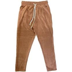 Vêtements Homme Pantalons Ko Samui Tailors Pantalon Basic Chenille Marron  KSUPCM BASIC F Marron