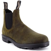 Chaussures Homme Boots Blundstone 1615 El Side Boot Suede vert  BSTBCCAL0418 Vert