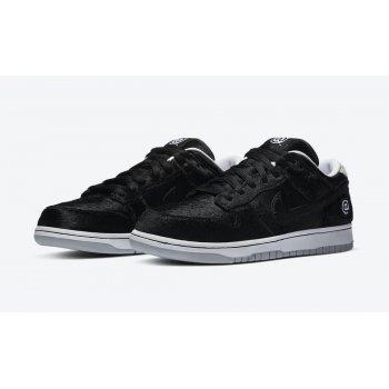 Chaussures Baskets basses Nike SB Dunk Low Medicom Black/White/Black