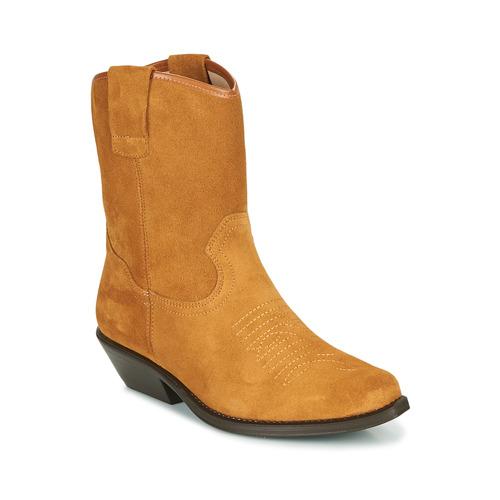 Chaussures Femme Bottes ville Betty London OSONGE Cognac