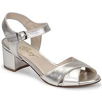 Chaussures Femme Sandales et Nu-pieds Betty London OSKAIDI Argenté