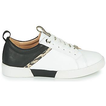 Chaussures Femme Baskets basses JB Martin GELATO Blanc / Noir