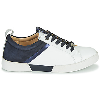 Chaussures Femme Baskets basses JB Martin GELATO Blanc / Marine