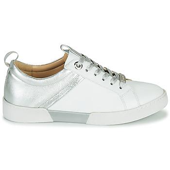 Chaussures Femme Baskets basses JB Martin GELATO Blanc / Argenté