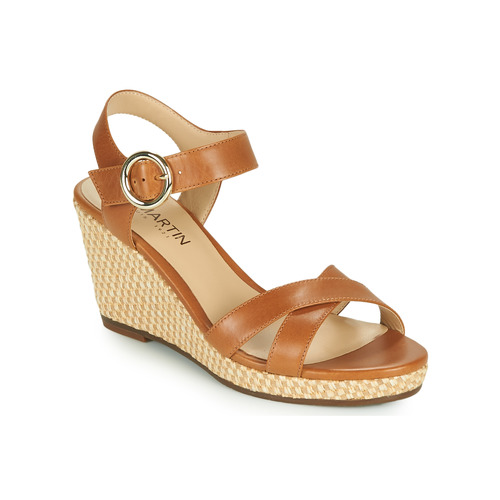 Chaussures Femme Sandales et Nu-pieds JB Martin QUERIDA Marron