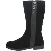 Chaussures Fille Bottes ville Pinko Up 025278 Noir