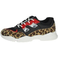 Chaussures Fille Baskets basses Pinko Up 025305 Noir/Beige