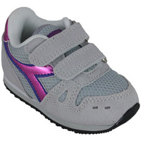 Chaussures Fille Running / trail Diadora simple run td girl 65010 Rose