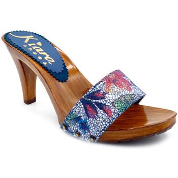 Chaussures Femme Sabots Kiara Shoes K6103 Bleu