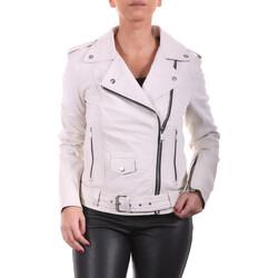Vêtements Femme Blousons Ladc Diane Let Blanc Blanc