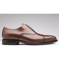 Chaussures Homme Mocassins Finsbury Shoes BALMORAL Marron clair