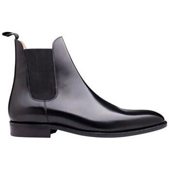 Chaussures Homme Boots Finsbury Shoes CHELSEA Noir