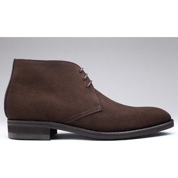 Chaussures Homme Boots Finsbury Shoes CHUKKA Marron