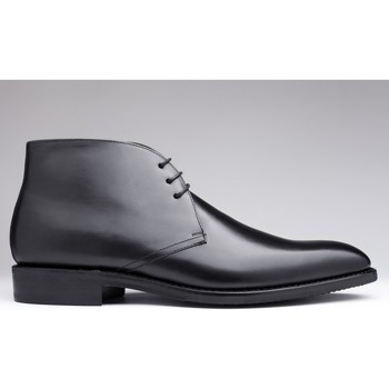 Chaussures Homme Boots Finsbury Shoes CHUKKA Noir