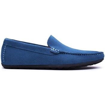 Chaussures Homme Mocassins Finsbury Shoes DANDY Bleu