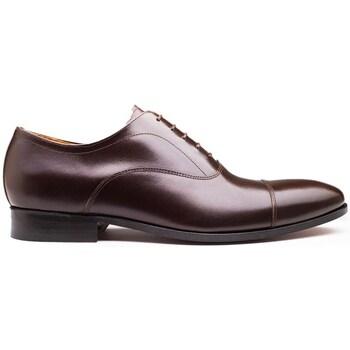 Chaussures Homme Mocassins Finsbury Shoes WHITNEY Marron foncé