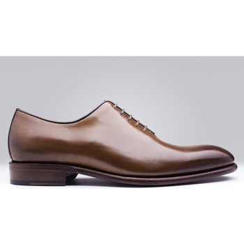 Chaussures Homme Mocassins Finsbury Shoes GIULIA Marron