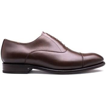 Chaussures Homme Richelieu Finsbury Shoes OXFORD Marron