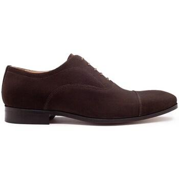 Chaussures Homme Richelieu Finsbury Shoes WHITNEY Marron foncé