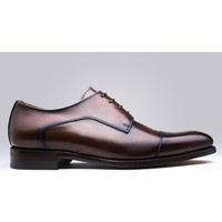 Chaussures Homme Derbies Finsbury Shoes ELVIS Marron