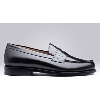 Chaussures Homme Mocassins Finsbury Shoes COLLEGE Noir