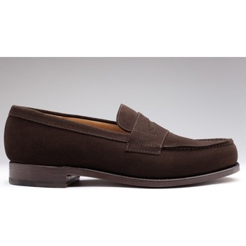 Chaussures Homme Mocassins Finsbury Shoes COLLEGE Marron