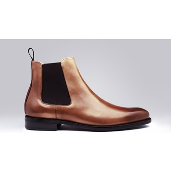 Chaussures Homme Boots Finsbury Shoes CHELSEA Marron
