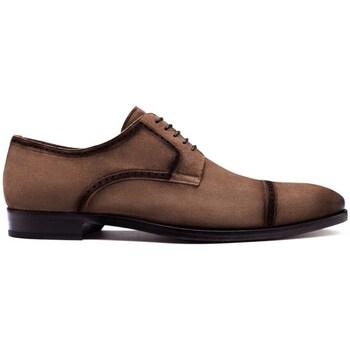 Chaussures Homme Derbies Finsbury Shoes PRIEURE Marron