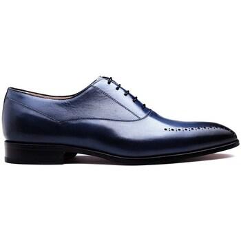 Chaussures Homme Richelieu Finsbury Shoes STEFANO Bleu
