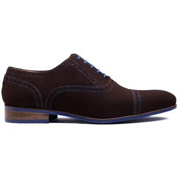 Chaussures Homme Richelieu Finsbury Shoes GABY Marron foncé