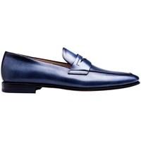 Chaussures Homme Mocassins Finsbury Shoes BRECOURT Bleu