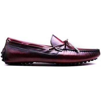 Chaussures Homme Mocassins Finsbury Shoes NIKKI Bordeaux