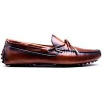 Chaussures Homme Mocassins Finsbury Shoes NIKKI Marron