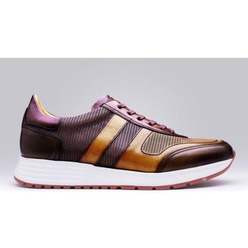 Chaussures Homme Baskets basses Finsbury Shoes MACEO Bordeaux
