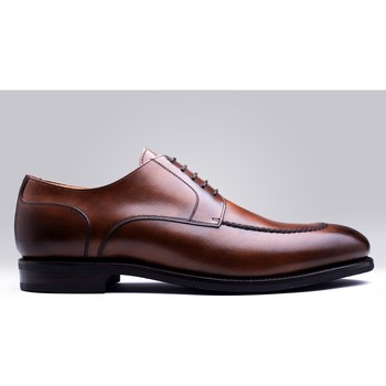 Chaussures Homme Derbies Finsbury Shoes CURTIS Marron