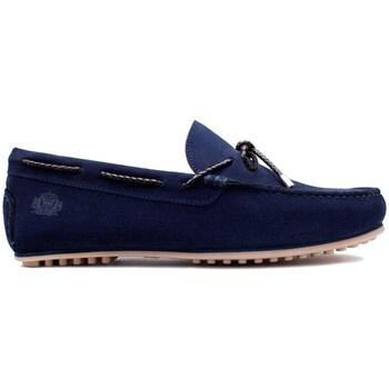 Chaussures Homme Mocassins Finsbury Shoes CANCUN Bleu marine