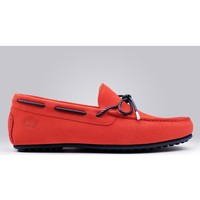 Chaussures Homme Mocassins Finsbury Shoes CANCUN Rouge