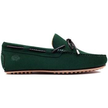 Chaussures Homme Mocassins Finsbury Shoes CANCUN Vert
