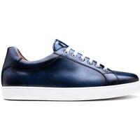 Chaussures Homme Baskets basses Finsbury Shoes JULIAN Bleu