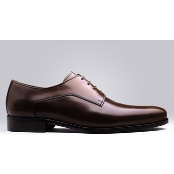 Chaussures Homme Derbies Finsbury Shoes NEWARK Marron