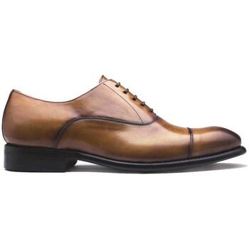 Chaussures Homme Richelieu Finsbury Shoes OXFORD Marron clair