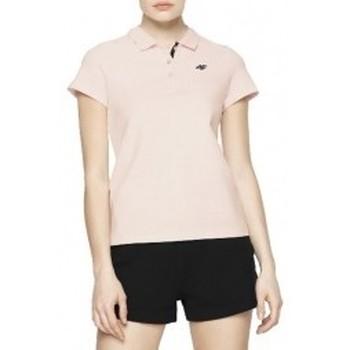 Vêtements Femme Polos manches courtes 4F Womens T-shirt rose