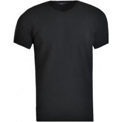 Vêtements Homme T-shirts manches courtes Tommy Hilfiger V-Neck 3 Pack Tee noir