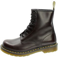 Chaussures Femme Boots Dr Martens 1460 RED VINTAGE Rosso