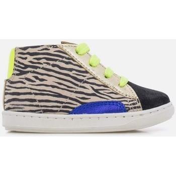 Chaussures Fille Baskets montantes Shoo Pom BOUBA STYLE ZEBRA Noir